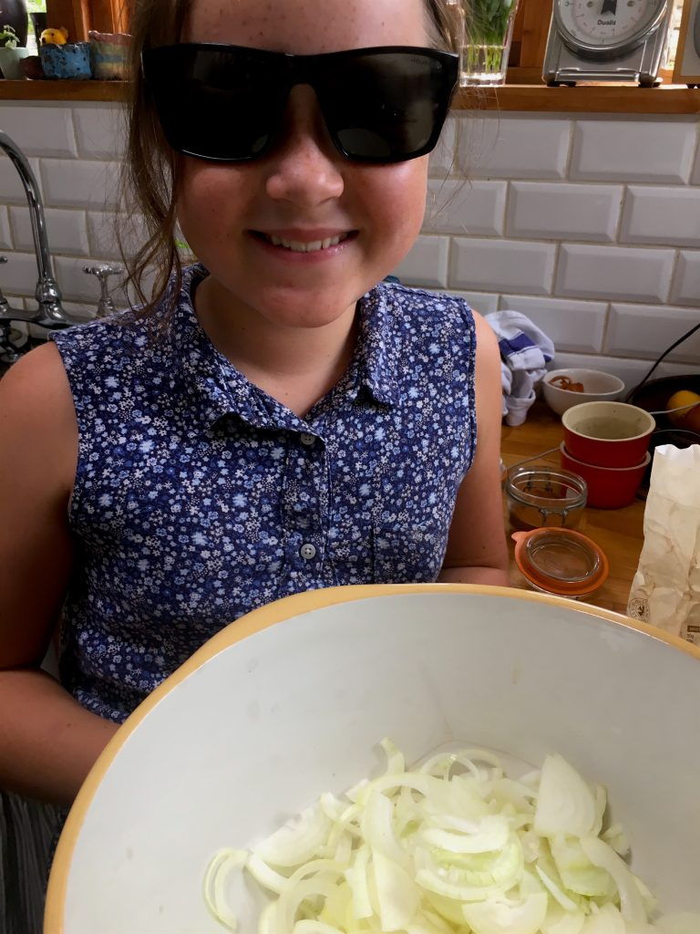How not to cry when chopping onions